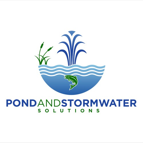Create eye catching logo for an environmental company specializing in pond and Stormwater solutions
