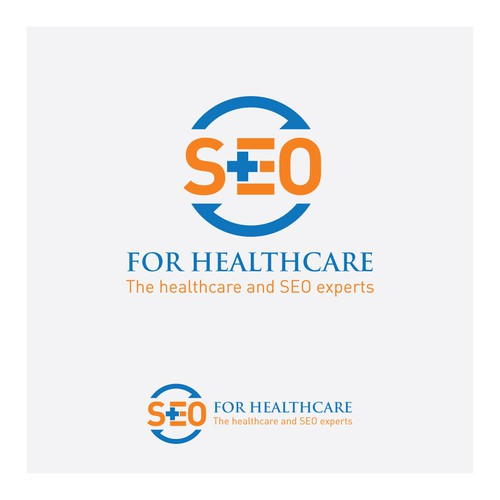 "We need a professional logo for ""SEO for Healthcare"""