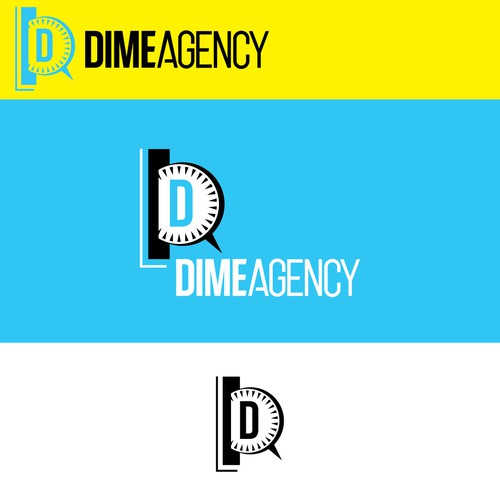 Dime Agency logo design