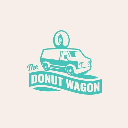 Logo for a gourmet mini donuts Van