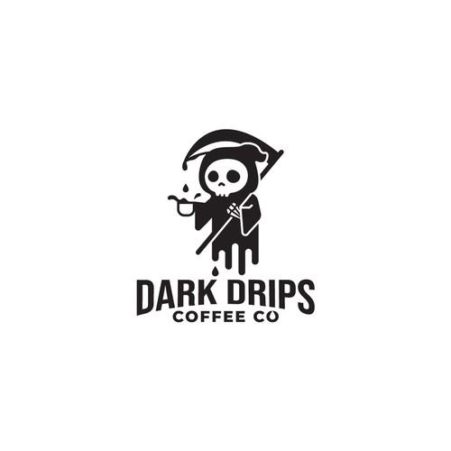 Fun Grim Reaper for Coffee Company