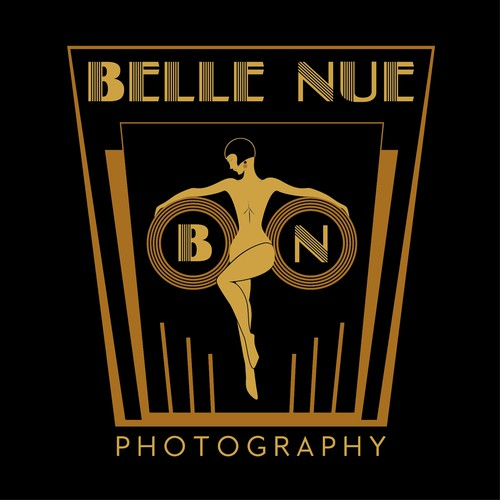 Logo for Belle Nue photography