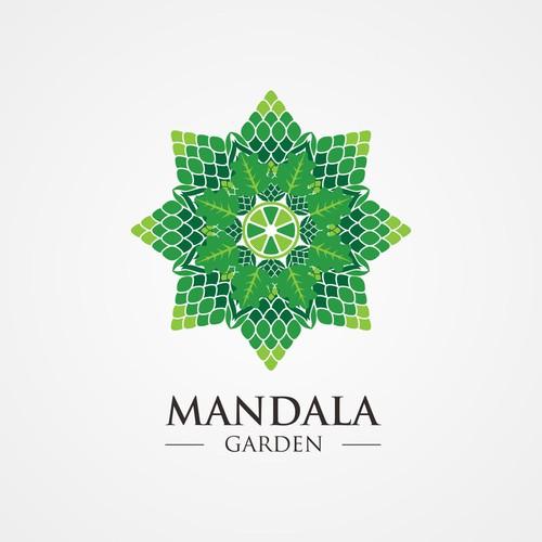 Logo Concept for Mandala Garden