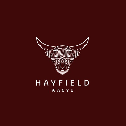 HAYFIELD WAGYU LOGO DESIGNS