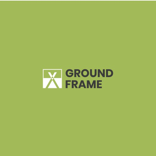 Technical logo for construction product: Ground Frame