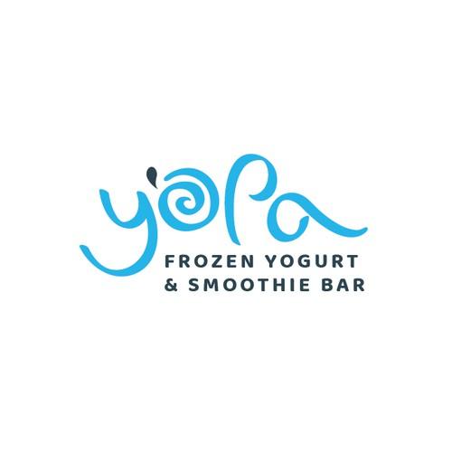 Yopa frozen yogurt and smoothie bar