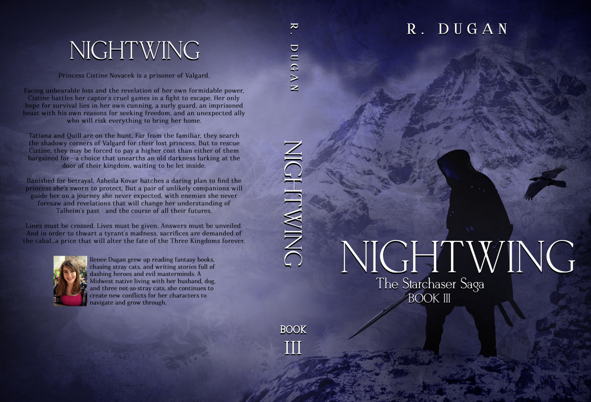 Starchaser Book 3  - NIGHTWING Cover Design :)