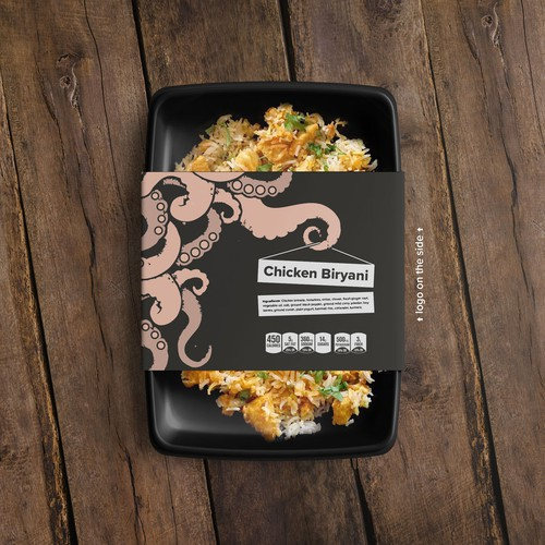 Package design for meal delivery company