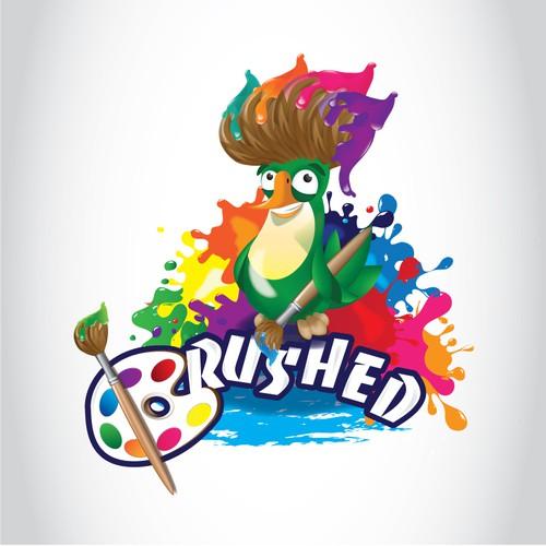 Brushed Fun kid logo