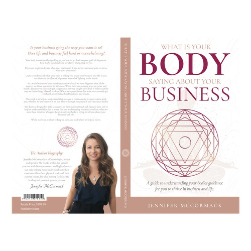 What is your body saying about your business book cover