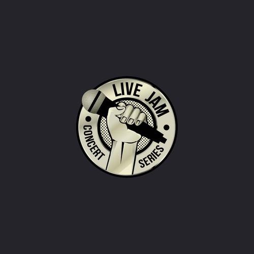 Logo for Live Jam
