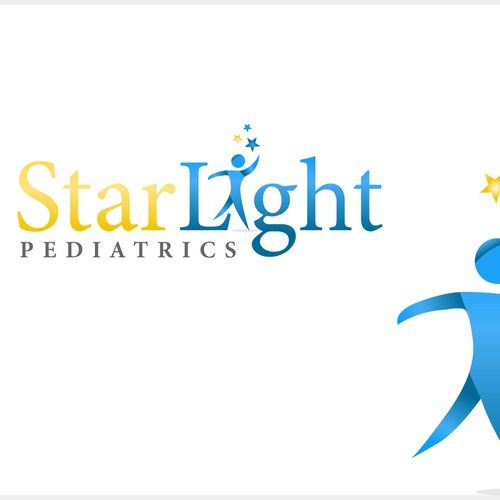 Logo concept for pediatrics logo