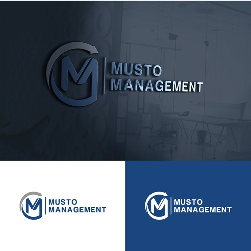 Clean Logo for Musto Management.