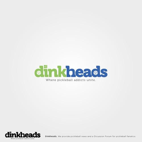 Fun logo for pickeball website