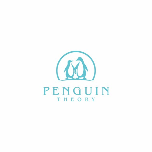 SIMPLE LOGO PENGUIN