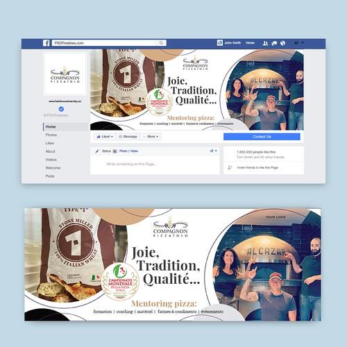 Facebook Cover for pizzeria