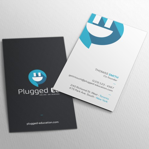 Educational Company Business Card