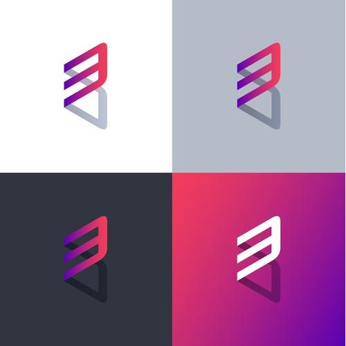 3D Commerce Logo Design