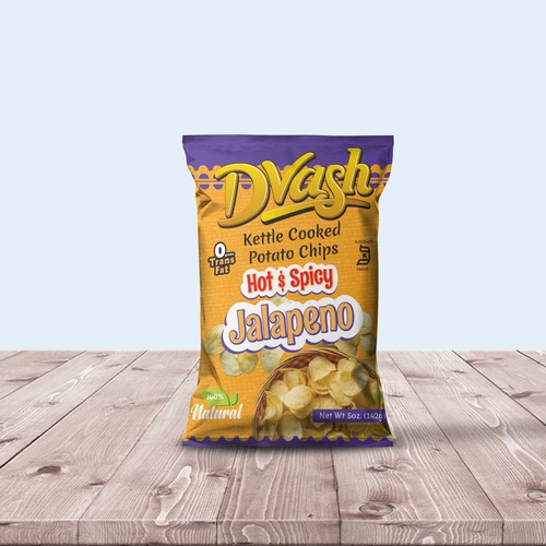 Potato Chips Package Design