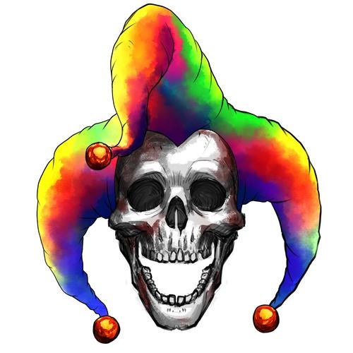 Memento Mori Skull Jester