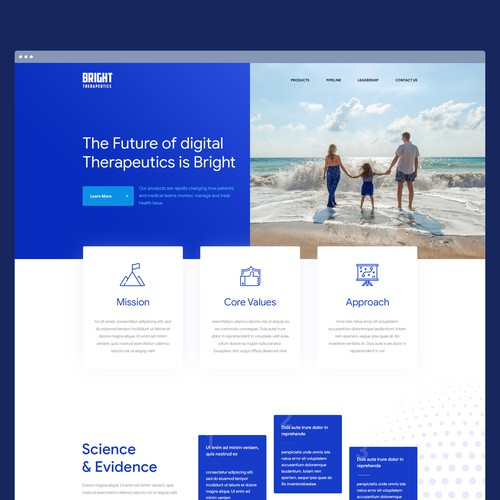Landing page - Bright Therapeutics