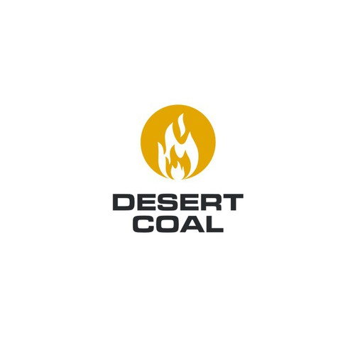 burning coal concept