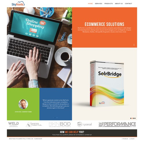 Webpage Graphic Designs
