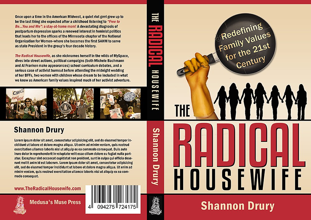 "Striking design needed for ""The Radical Housewife: Adventures of a Feminist Stay-At-Home Mom"""