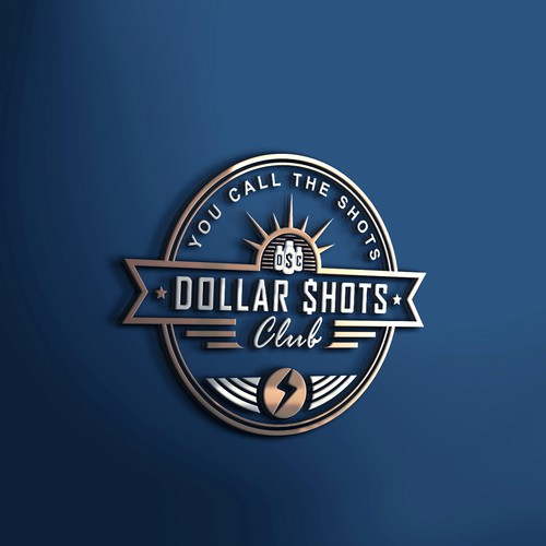 Branding logo for Dollar shots club