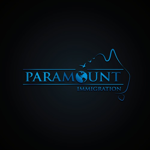 Create a logo and website with a modern and stylish twist for new Australian startup company - Paramount Immigration