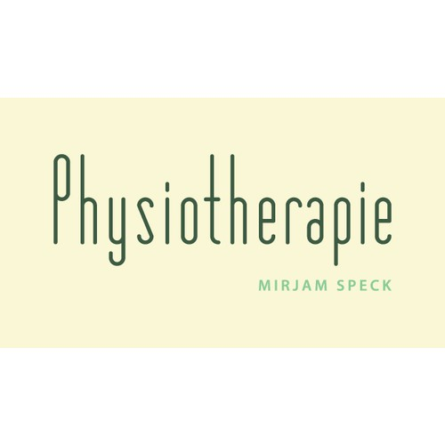 Physiotherapie - mirjam speck