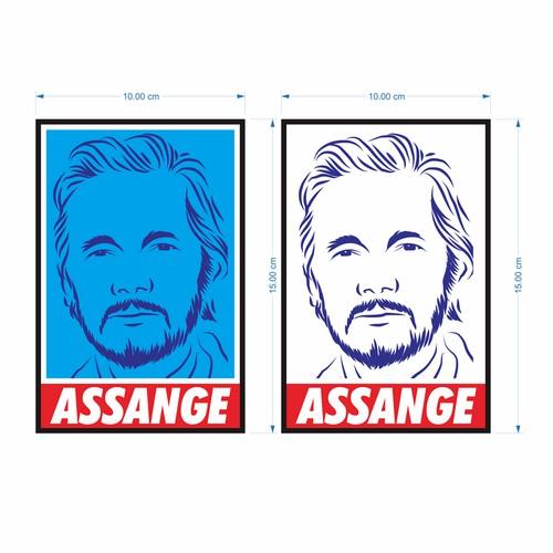 Stiker for WikiLeaks