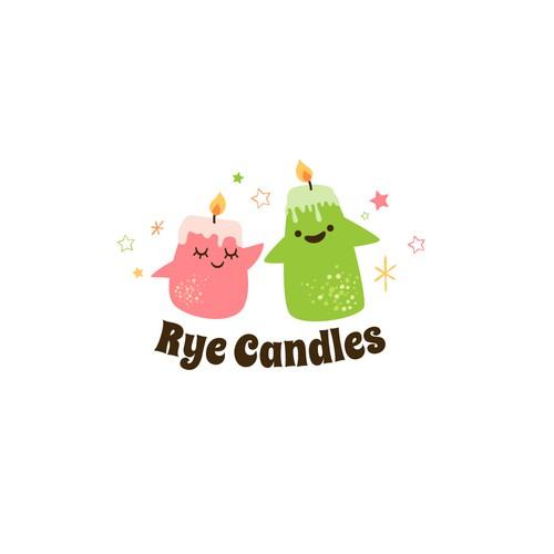 Playful Candle Logo