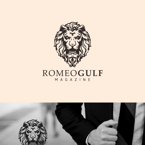 Greate intricate logo for Men's Magazine