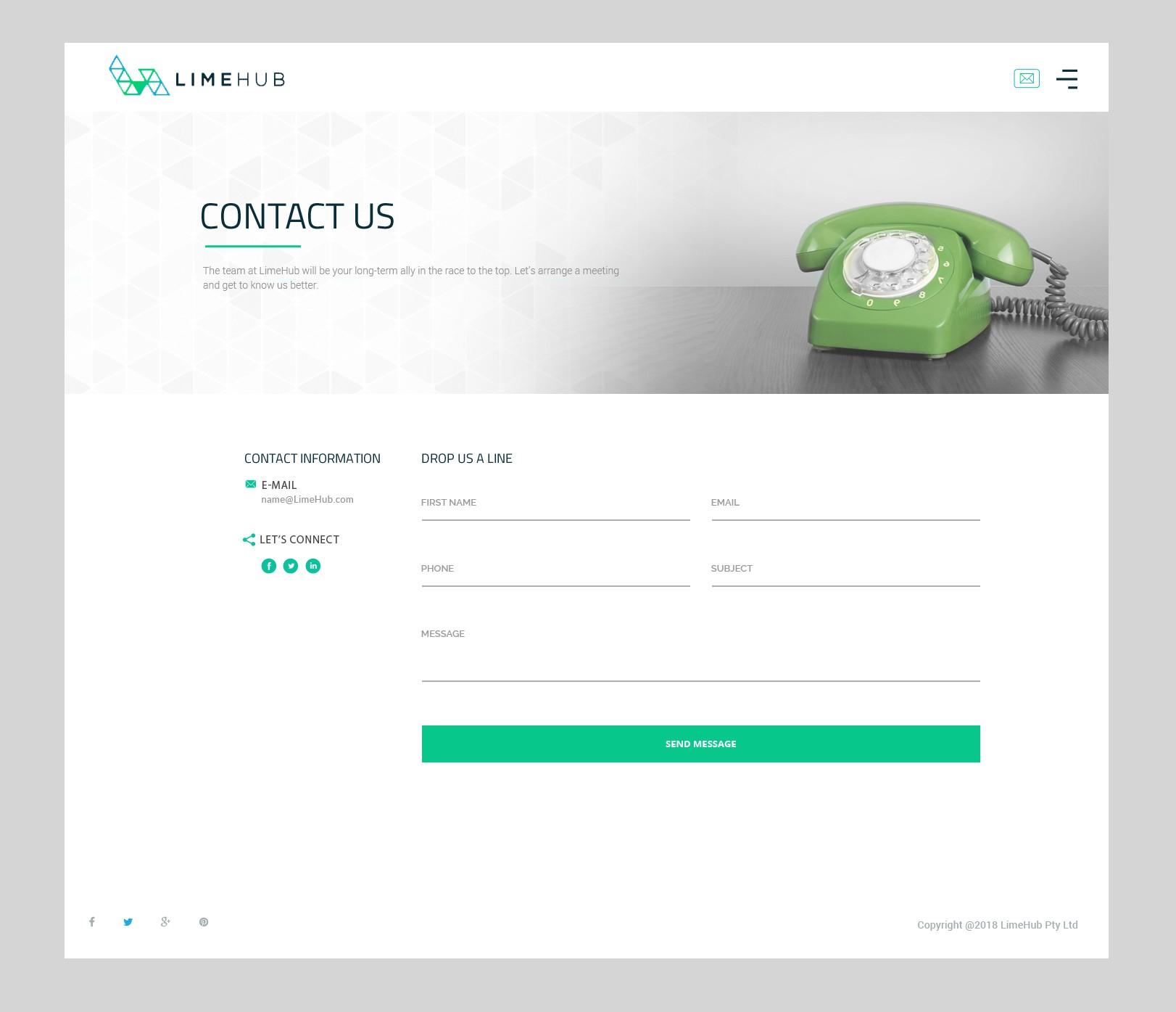 Website design continued