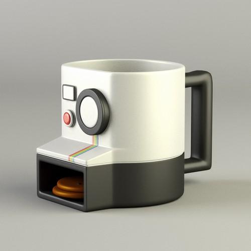 3D Unique Camera Mug