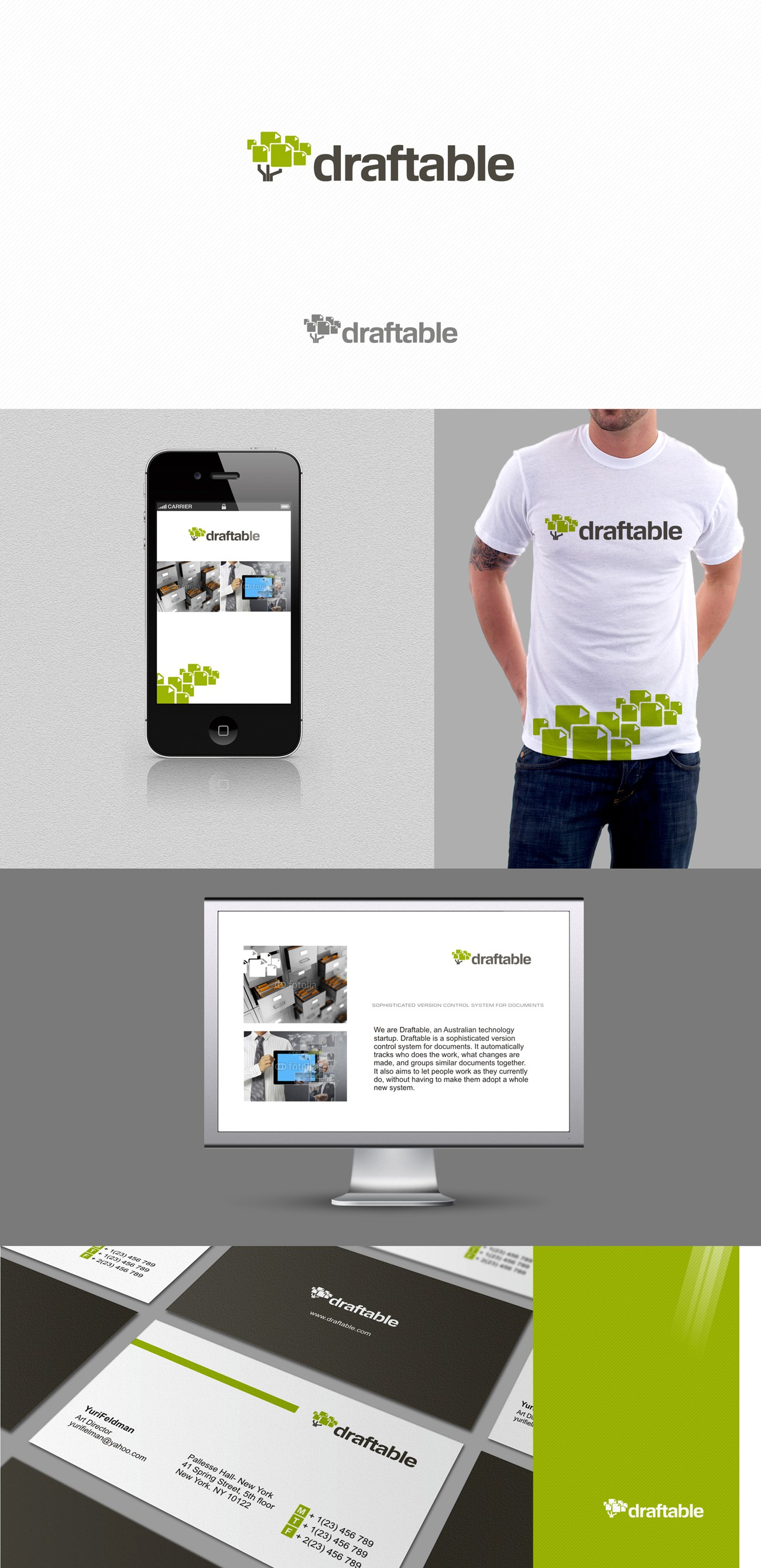 Create the Logo for Draftable!