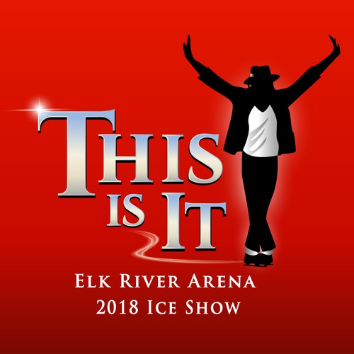 Logo for an Ice Skating Show