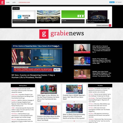 Redesign News Site