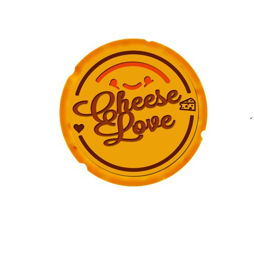 3D logo for cheese seller