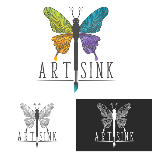 Logo for creative Arts business