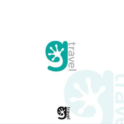 Logo concept for travel equipment.