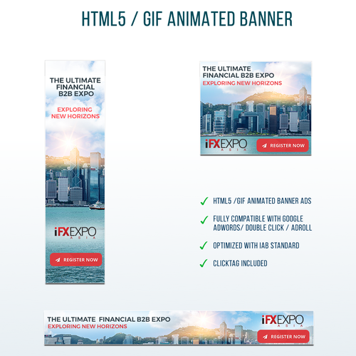 A Cool Banner for The Largest B2B Expo