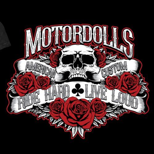 T shirt for bike club