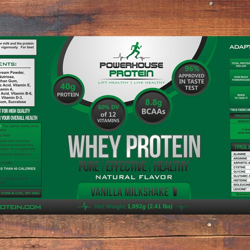 Powerhouse Protein Needs Innovative Label