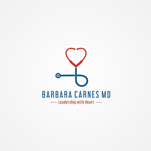 Health Care Executive Simple Personal Logo