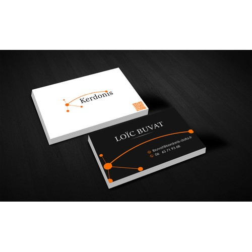 Créer un logo + cartes visite pour une société de marketing print