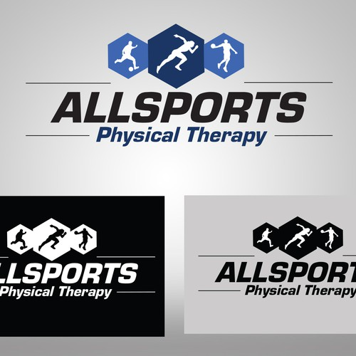create a Sports Physical Therapy Logo for AllSports Physical Therapy