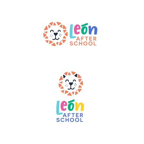 Logo and website design for León after school