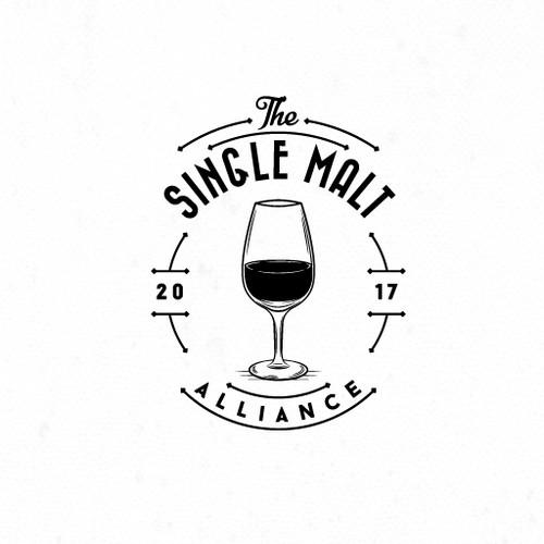 Logo for independent whiskey blog.
